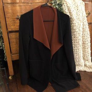 WHBM reversible sweater blazer